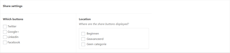 sharesettings
